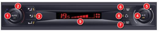 manuel du conducteur citro n c5 ii air conditionn automatique monozone confort citro n c5. Black Bedroom Furniture Sets. Home Design Ideas